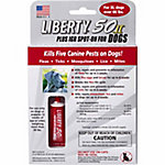 Liberty® 50 Plus IGR Flea & Tick Spot-On for Dogs, X-Large Breed