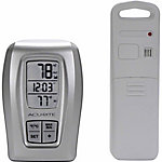 Acu-Rite® Digital Wireless Indoor/Outdoor Thermometer with Clock