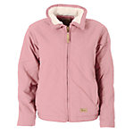 Berne® Ladies' Sanded/Washed Duck Sherpa-Lined Quilt-Thru Jacket