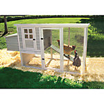 Precision Hen House Chicken Coop, 30 in. x 78 in. x 41 in.