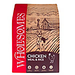 Wholesomes Chicken Meal & Rice Dog Food, 40 lb.