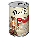 4health™ Beef & Vegetable Stew Formula for Adult Dogs, 22 oz. Can