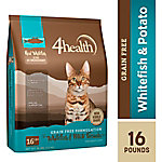 4health™ Grain Free Whitefish, Potato & Pea Formula for Adult Cats, 16 lb. Bag