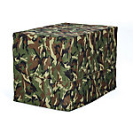 MidWest® Homes for Pets Quiet Time Green Camo Crate Cover, 48 in. W