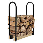 RedStone Adjustable Black-Painted Log Rack