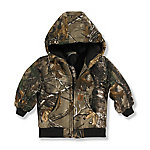 Carhartt® Boys' Infant Camo Active Jac Quilted Flannel Lined Jacket, Realtree Xtra™