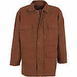 C.E. Schmidt Men's Sanded/Washed Duck Flannel-Lined Ranch Coat, Tobacco