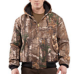 Carhartt® Men's Quilted Flannel-Lined Camo Active Jac