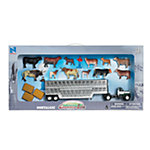 New-Ray Nostalgic Country Life Cow Set 1:43