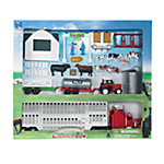 New-Ray Deluxe Chrome Livestock Playset 1:32