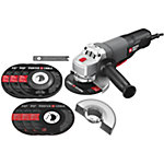 Porter Cable 7 AMP 4-1/2 in. Angle Grinder/Cut-Off Tool with Bonus Wheels