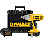 DeWALT® 1/2 in. 18V Cordless Impact Wrench Kit with Hog Ring Anvil and One XRP™ Battery