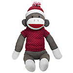 Huggable Knit Sock Monkey, 24 in.