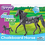 Breyer® Chalk Board Horse Activity Kit 1:12