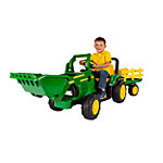 Peg Perego John Deere Power Loader with Trailer & Sound