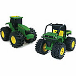 John Deere Monster Treads Lights and Sounds Vehicle, 6 in.
