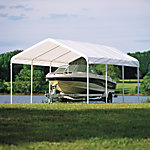 ShelterLogic 12 ft. x 20 ft. White Canopy Replacement Cover, Fits 2 in. Frame