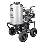Simpson King Brute Gas Hot Water Pressure Washer, 3000 PSI @ 2.8 GPM