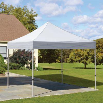 Shelterlogic Alumi Max 10 Ft X 10 Ft Pop Up Canopy At