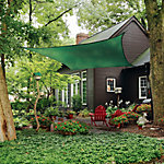 ShelterLogic® ShadeLogic Sun Shade Sail, Heavy Weight 16 ft. Square, Evergreen