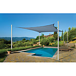 ShelterLogic ShadeLogic Sun Shade Sail, Heavy Weight 16 ft. Square, Sea Blue