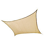 ShelterLogic ShadeLogic Sun Shade Sail, 16 ft. Square, Sand