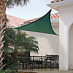 ShelterLogic® ShadeLogic Sun Shade Sail, Heavy Weight 16 ft. Triangle, Evergreen