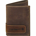 Carhartt® Men's Black & Tan Long Neck Front Pocket Wallet