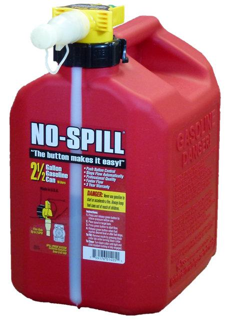 NO-SPILL 2-1/2 Gallon Gas Can - Tractor Supply Co.