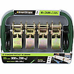 SmartStraps® 10 ft. L Green Standard Ratchet, Pack of 4, 300 lb. Safe Work Load
