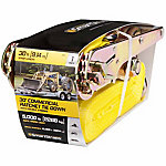 SmartStraps® 30 ft. L Yellow Ratchet Commercial Duty J Hooks, 5,000 lb. Safe Work Load