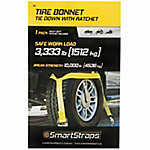 SmartStraps® Yellow Tire Bonnet with Ratchet & Snap Hooks, 3,333 lb. Safe Work Load