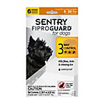 Sentry® Fiproguard® for Dogs Flea & Tick Squeeze-On, Up to 22 lb., Pack of 6
