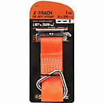 SmartStraps® 8 in. L Orange Tie-Off Strap E-Track, 1,167 lb. Safe Work Load