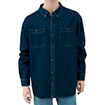 C.E. Schmidt® Men's Long Sleeve Denim Button-Down Work Shirt