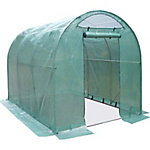 GroundWork® Walk-In Greenhouse, 78-3/4 in. L x 118 in. H x 84 in. W