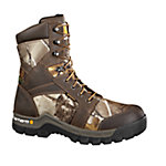 Carhartt Men's 8 in. Brown/Camo Insulated Work Flex Boot