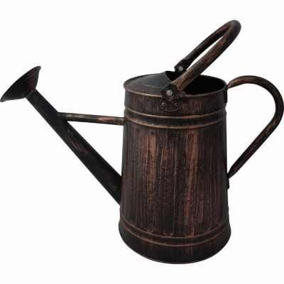 GroundWork® Watering Can, 2 gal, Brush Copper