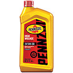 Pennzoil® High Mileage Vehicle® 5W30 Motor Oil, 1 qt.