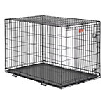 MidWest® Homes for Pets iCrate Single Door Dog Crate, Large Breed