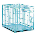 MidWest® Homes for Pets Fashion iCrate Single Door Dog Crate, Small Breed, Blue