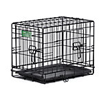 MidWest® Homes for Pets iCrate Double Door Dog Crate, Extra Small Breed, 14 in. H