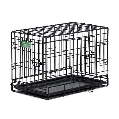 For pets icrate double door dog crate extra small breed 16 in h