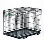 MidWest® Homes for Pets iCrate Double Door Dog Crate, Medium to Large Breed
