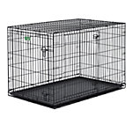 MidWest® Homes for Pets iCrate Double Door Dog Crate, Large Breed