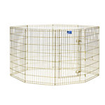 MidWest® Homes for Pets MidWest® Gold Exercise Pen, 42 in. H