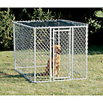 K9 Kennel, 4 ft. W x 6 ft. L x 4 ft. H