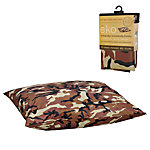 MidWest® Homes for Pets Quiet Time® eKo Brown Camo Bed Cover and Liner, Medium to Large Breed, 35 in. W