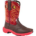 Lil Durango Rebelicious 8 in. Pull-On Boot, Chocolate Covered Cherry