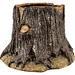Red Shed Resin Tree Stump Planter